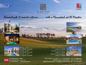 Dimenticate il mondo esterno …. venite a Marrakech ad Al Maaden - International Home Service