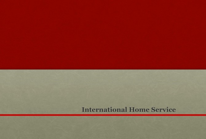 - International Home Service